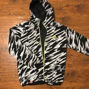 men's adidas reversible bomber jacket